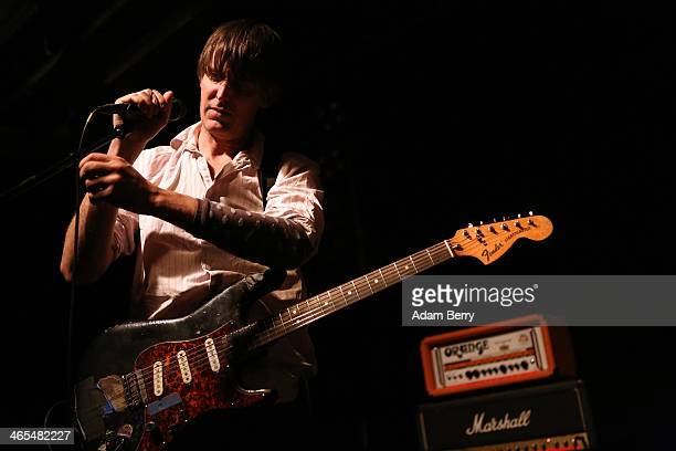 Stephen Malkmus of Stephen Malkmus and The Jicks performs during a concert at Postbahnhof on January 27 2014 in Berlin Germany