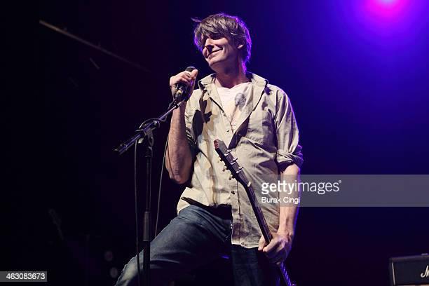 Stephen Malkmus of Stephen Malkmus & The Jicks performs on stage at The Forum on January 16, 2014 in London, United Kingdom.