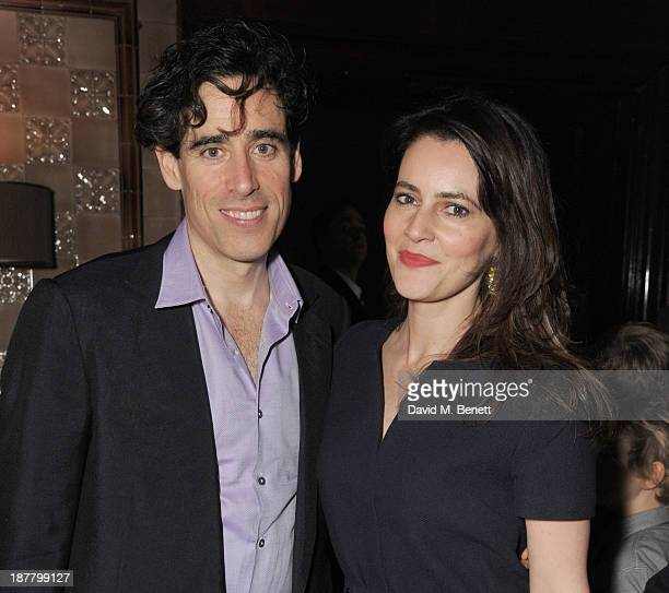 Stephen Mangan and Louise Delamare attends an after party celebrating the press night performance of 'Perfect Nonsense' at the The Royal Horseguards...