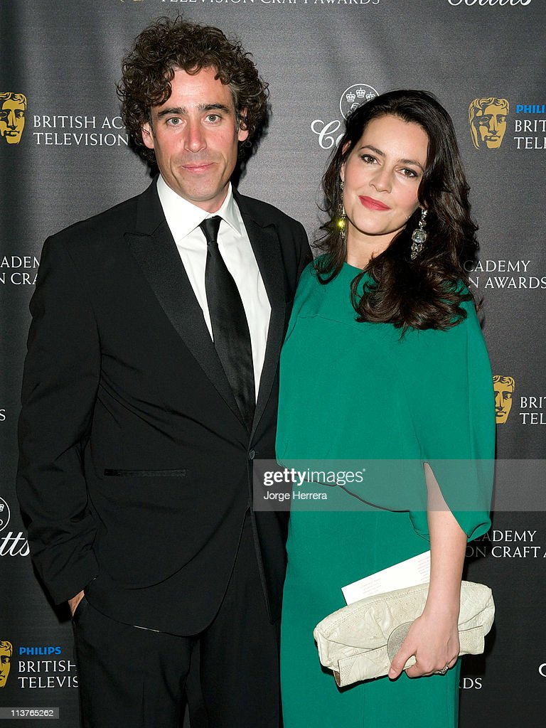 Stephen Mangan and Louise Delamere attend the The Philips British Academy Television Awards Nominees Party at Coutts Bank on May 5, 2011 in London, England.