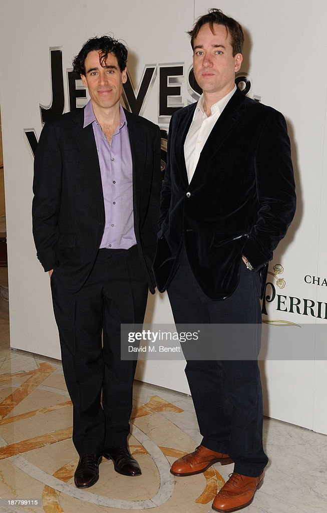 Stephen Mangan and Matthew Macfadyen attends an after party celebrating the press night performance of 'Perfect Nonsense' at the The Royal Horseguards on November 12, 2013 in London, England.