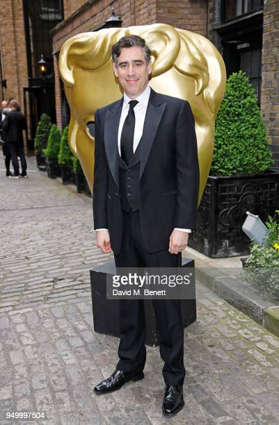 Stephen Mangan arrives at the British Academy Television Craft Awards held at The Brewery on April 22 2018 in London England