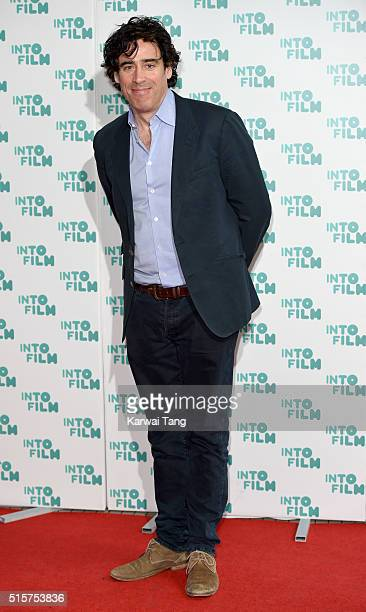 Stephen Mangan arrives for the 2016 Into Film Awards at Odeon Leicester Square on March 15 2016 in London England