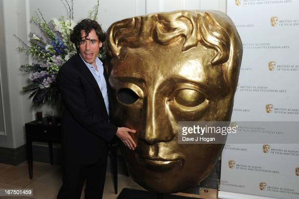 Stephen Mangan attends the BAFTA TV Awards 2013 nominees party at The Corinthia Hotel on April 25 2013 in London England