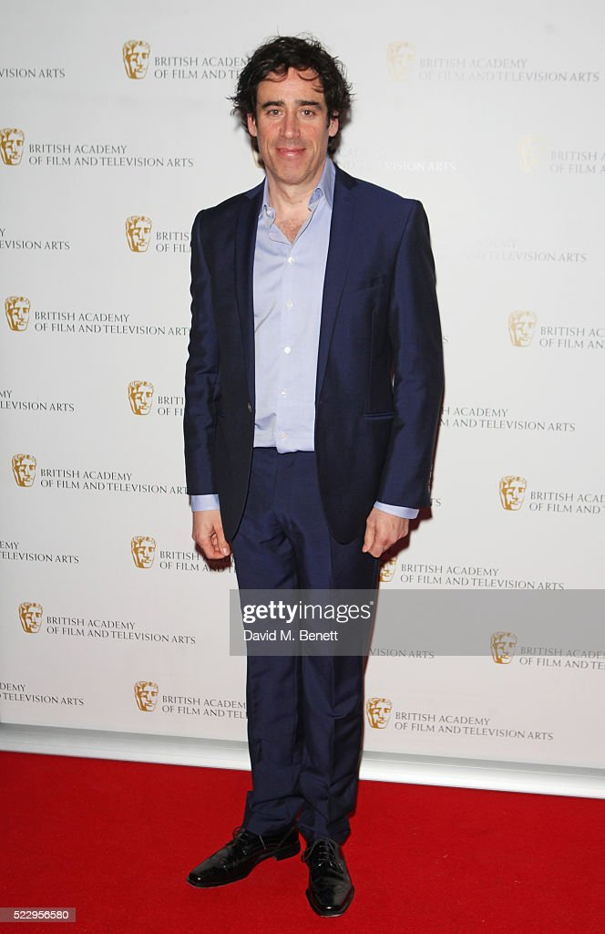 Stephen Mangan attends the House of Fraser British Academy Television and Craft nominees party at Mondrian London on April 21, 2016 in London, England.