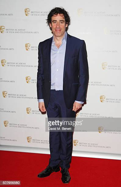Stephen Mangan attends the House of Fraser British Academy Television and Craft nominees party at Mondrian London on April 21 2016 in London England