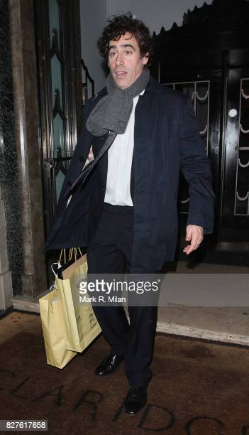 Stephen Mangan attends the Radio Times Covers Party at Claridges Hotel on January 29 2013 in London England