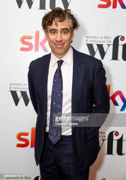 Stephen Mangan attends the Sky Women in Film and Television UK Awards 2018 at the London Hilton on December 7 2018 in London England