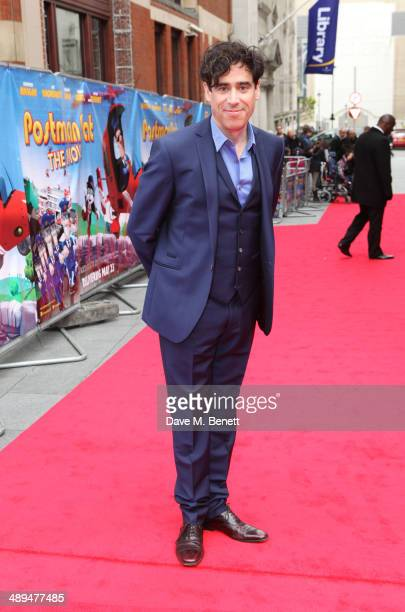 Stephen Mangan attends the World Premiere of 'Postman Pat' at Odeon West End on May 11 2014 in London England