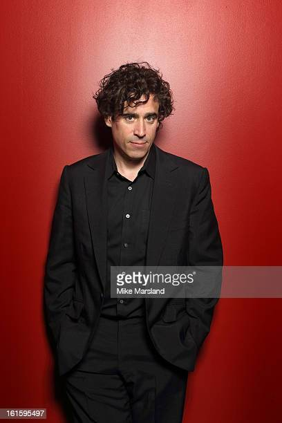 Stephen Mangan poses in the portrait studio at the PreBafta party hosted by EE and Esquire ahead of the 2013 EE British Academy Film Awards at The...