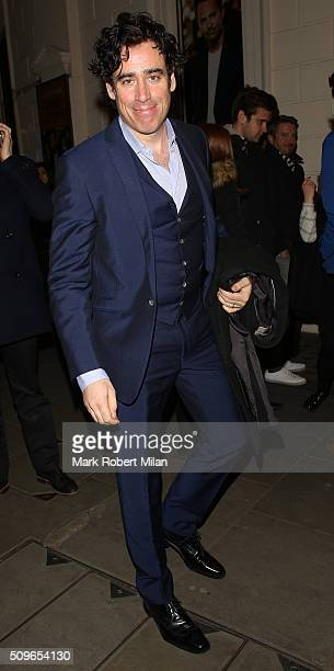 Stephen Mangan sighting on February 11 2016 in London England