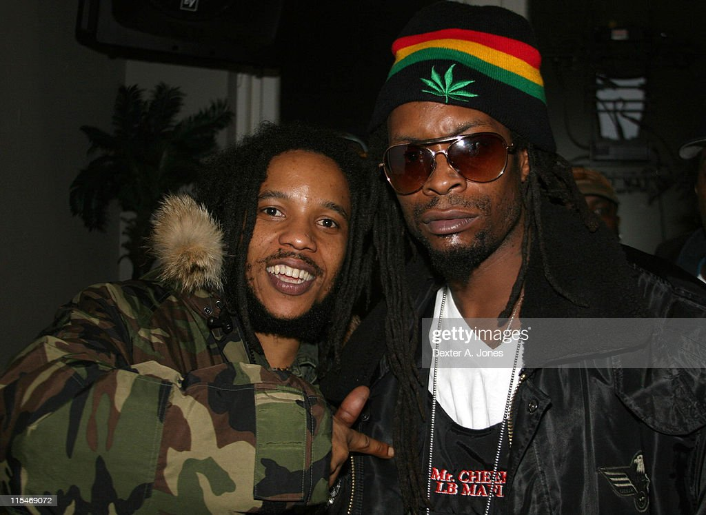 Stephen Marley and Mr. Cheeks during Stephen Marley in Concert at Toads Place - March 21, 2007 at Toads Place in New Haven, Connecticut, United States.