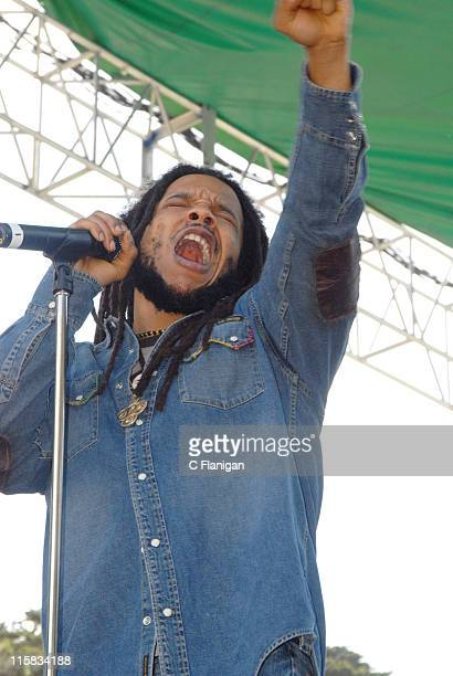 Stephen Marley during Green Apple Music Festival San Francisco Day 3 at Golden Gate Park Speedway Meadows in San Francisco California United States
