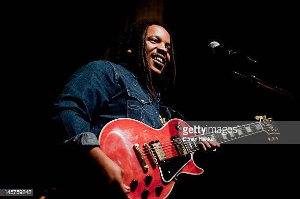 Stephen Marley performs on stage at Tivoli on May 18 2012 in Utrecht Netherlands
