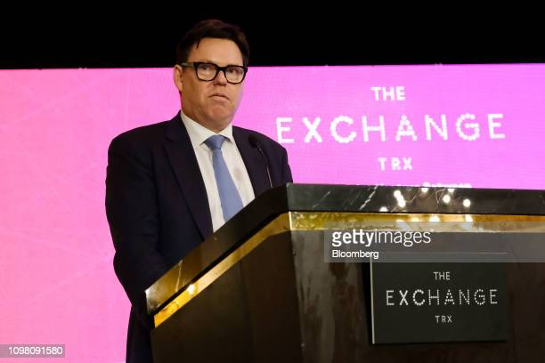 Stephen McCann chief executive officer of LendLease Group speaks during an event marking the launch of the Exchange TRX precinct in Kuala Lumpur...