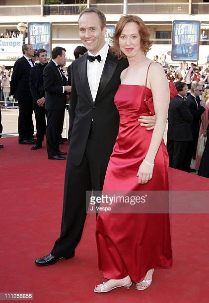 Stephen McFeely and Jennifer Cotteleer during 2004 Cannes Film Festival The Life and Death of Peter Sellers Premiere at Palais Du Festival in Cannes...