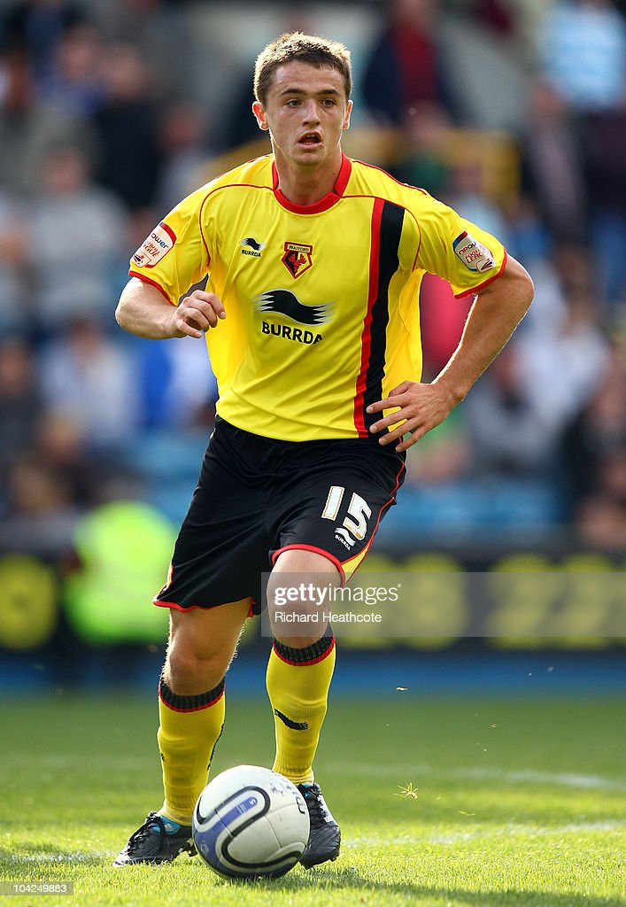Stephen McGinn of Watford in action during the npower Championship match between Millwall and Watford at The Den on September 18, 2010 in London, England.