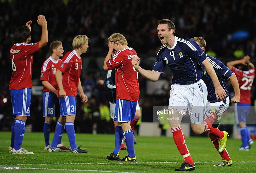Scotland v Liechtenstein - EURO 2012 Qualifier : News Photo