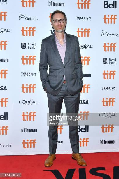 Stephen Merchant attends the Jojo Rabbit premiere during the 2019 Toronto International Film Festival at Princess of Wales Theatre on September 08...