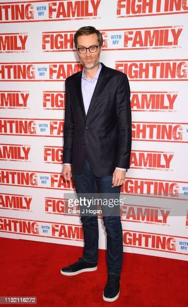 Stephen Merchant attends the UK Premiere of Fighting With My Family at BFI Southbank on February 25 2019 in London England