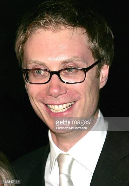 Stephen Merchant during 2007 British Academy Television Awards Press Room at London Palladium in London Great Britain