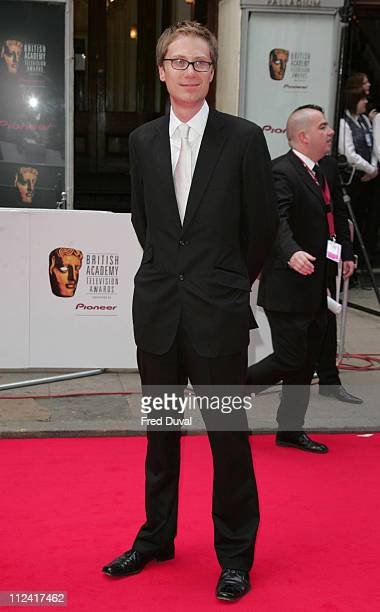 Stephen Merchant during 2007 British Academy Television Awards Red Carpet Arrivals at London Palladium in London Great Britain