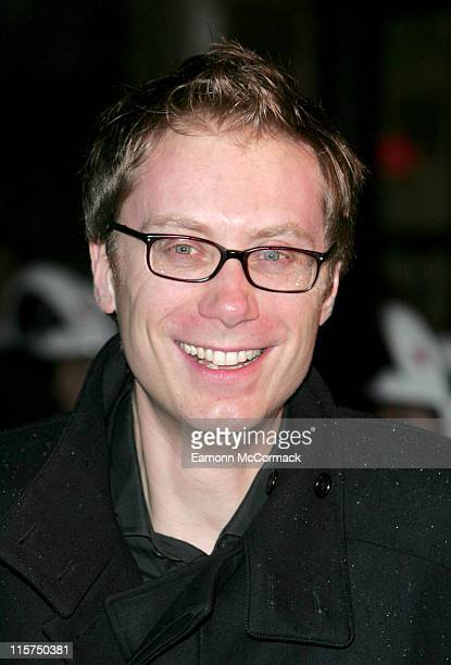 Stephen Merchant during Hot Fuzz London Premiere Outside Arrivals at Vue West End in London Great Britain