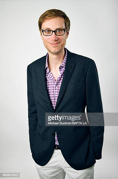 Stephen Merchant poses for a portrait at the BAFTA luncheon on August 23 2014 in Los Angeles California