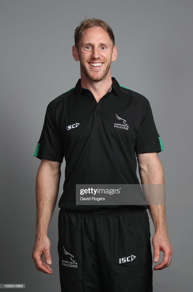 Newcastle Falcons Squad Photo Call