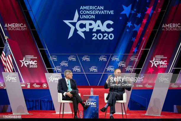 Stephen Moore Distinguished Visiting Fellow for Project for Economic Growth at The Heritage Foundation and Acting White House Chief of Staff Mick...