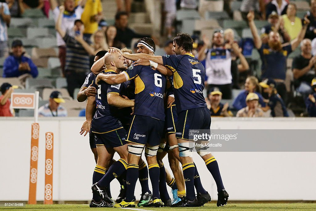 Super Rugby Rd 1 - Brumbies v Hurricanes : News Photo