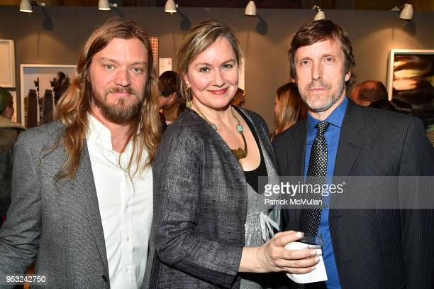 Stephen Motika Julie Raja and Alan Gilbert attend BOMB's 37th Anniversary Gala Art Auction at Capitale on April 30 2018 in New York City