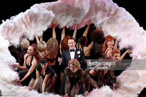 Stephen Moyer as William Billy Flynn in a scene from the Los Angeles Philharmonic's performance of the musical Chicago directed by Brooke Shields...