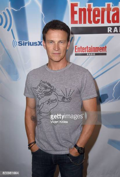 Stephen Moyer attends SiriusXM's Entertainment Weekly Radio Channel Broadcasts From Comic Con 2017 at Hard Rock Hotel San Diego on July 22 2017 in...