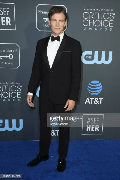 Stephen Moyer attends the 24th annual Critics' Choice Awards at Barker Hangar on January 13 2019 in Santa Monica California