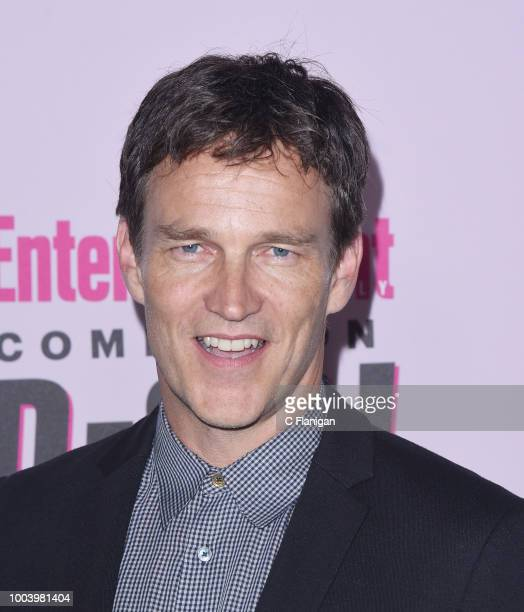 Stephen Moyer attends the annual Entertainment Weekly ComicCon Celebration at Float at Hard Rock Hotel San Diego on July 21 2018 in San Diego...