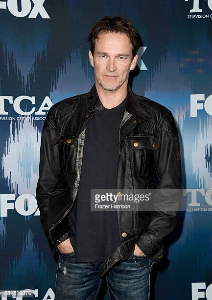 Stephen Moyer attends the FOX AllStar Party during the 2017 Winter TCA Tour at Langham Hotel on January 11 2017 in Pasadena California