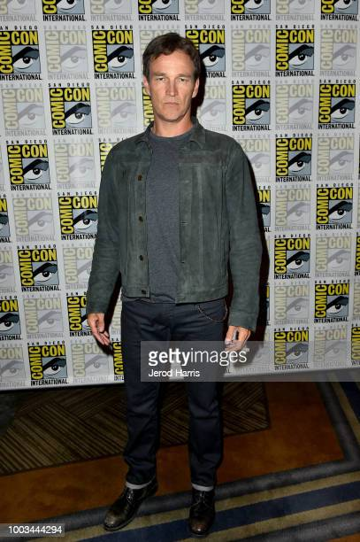 Stephen Moyer attends the 'The Gifted' Press Line during ComicCon International 2018 at Hilton Bayfront on July 21 2018 in San Diego California