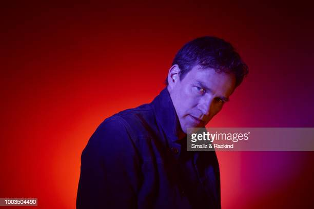Stephen Moyer from Fox's 'The Gifted' poses for a portrait at the Getty Images Portrait Studio powered by Pizza Hut at San Diego 2018 Comic Con at...