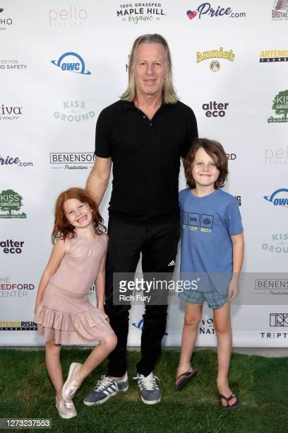 Stephen Nemeth attends a Special DriveIn Screening of KISS THE GROUND available on Netflix September 22 2020