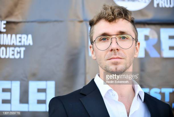 """Stephen Paar attends the Los Angeles premiere of Vertical's """"Lorelei"""" at Laemmle Royal on July 28, 2021 in Los Angeles, California."""
