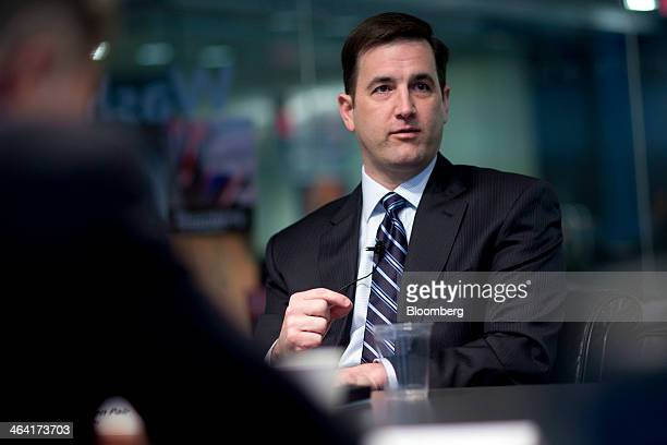 Stephen Pair cofounder and chief technology officer of BitPay Inc speaks during an interview in Washington DC US on Tuesday Jan 21 2014 For Bitcoin...