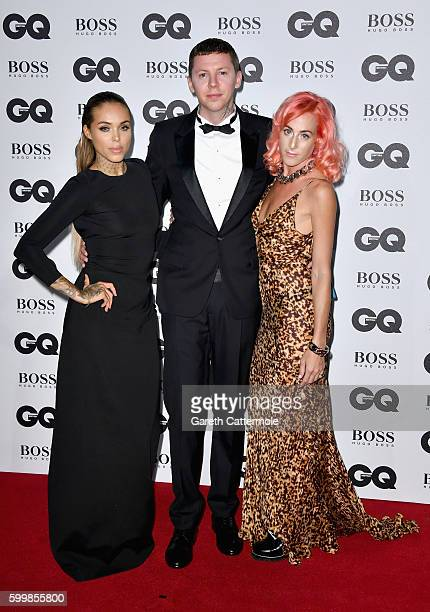 Stephen Paul Manderson aka Professor Green and guests arrive for GQ Men Of The Year Awards 2016 at Tate Modern on September 6 2016 in London England