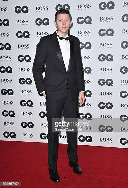 Stephen Paul Manderson aka Professor Green arrives for GQ Men Of The Year Awards 2016 at Tate Modern on September 6 2016 in London England