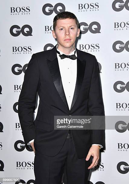 Stephen Paul Manderson aka Professor Green arrives for GQ Men Of The Year Awards 2016 at Tate Modern on September 6 2016 in London England