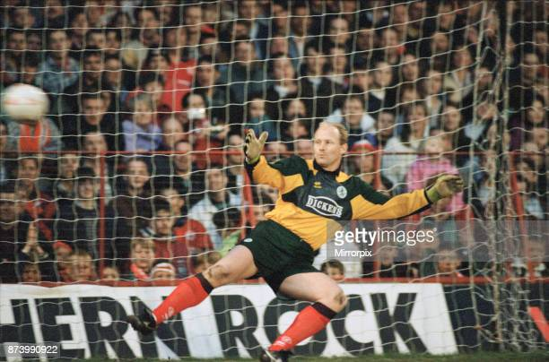 Stephen Pears testimonial and the last ever game to be played at Ayresome Park. Steve Pears in action 16th May 1995.