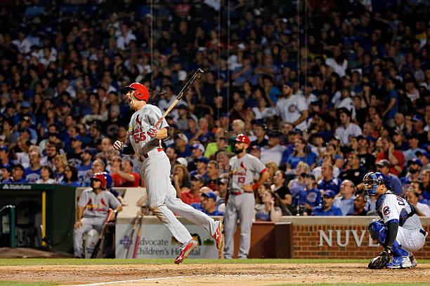 St Louis Cardinals V Chicago Cubs Wall Art