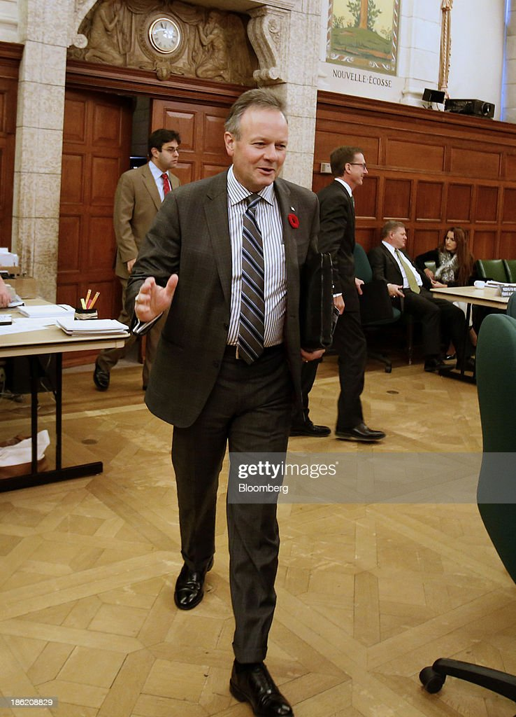 Bank Of Canada Governor Stephen Poloz And Sr. Deputy Governor Tiff Macklem Attend The House Of Commons Standing Committee On Finance