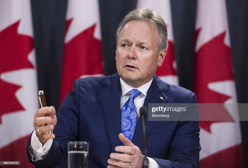 Bank Of Canada Governor Poloz And Senior Deputy Governor Wilkins Hold Press Conference