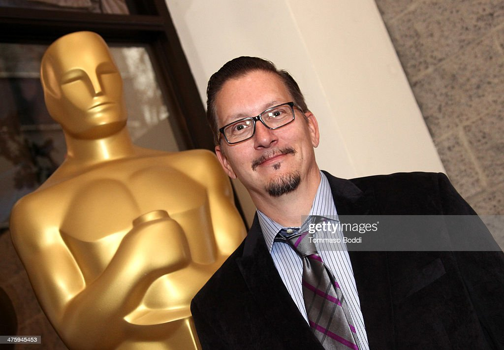 Stephen Prouty attends the 86th Annual Academy Awards - Makeup And Hairstyling at the AMPAS Samuel Goldwyn Theater on March 1, 2014 in Beverly Hills, California.